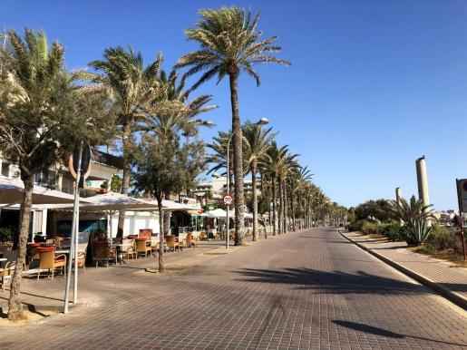 Algunos de los hoteles de larga estancia están en la playa de Palma.