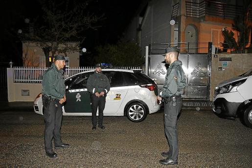 La Guardia Civil detuvo a la mujer tras la agresión en el camino de Santa Anna, en Alcúdia.