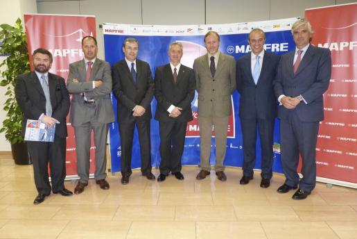 Santiago Fiol, Alfredo Lopera, Vicenç Torres, Diego González, Ramon Socías, Teófilo Domínguez y José Luis Asensio.