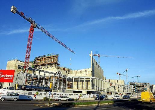 Las obras del Palacio de Congresos sufrieron diversas paralizaciones.