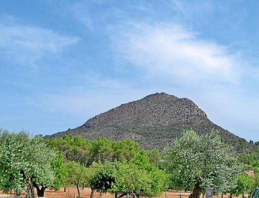 Está previsto que el parque temático se instale a los pies del Puig de Santa Magdalena.