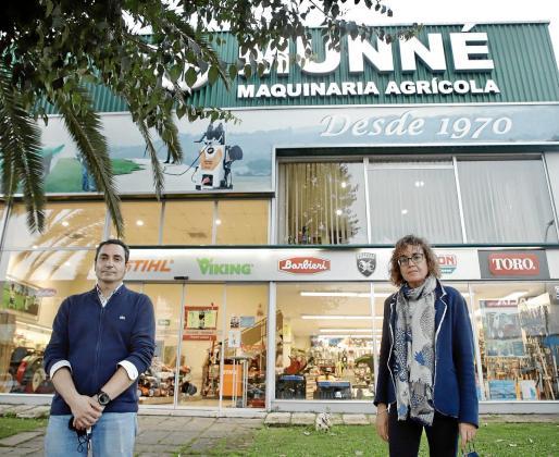 Los hermanos Jordi y Maria Auxiliadora Munné están al frente de la empresa, que cuenta con delegaciones en Inca y Manacor. Foto: Pilar Pellicer
