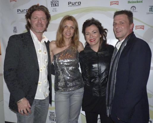 Mats Wahlstrom, Christine Schedukat, Mathias Kühn y Hubert Georg Feil.