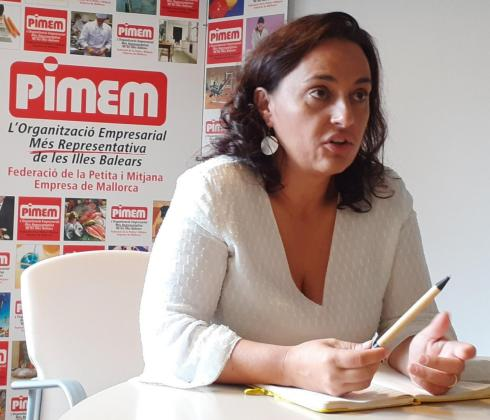 La presidenta de Pimem Restauración, Eugènia Cusí.