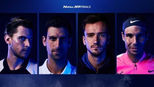 Thiem, Djokovic, Medvedev y Nadal, lucharán por jugar la final.