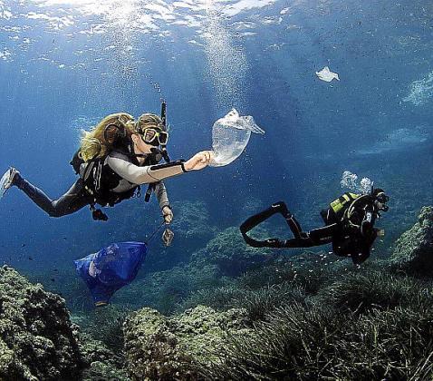 Siurell a la iniciativa medioambiental: fundación Save the Med.
