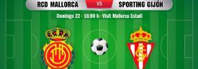 Así ha sido el Real Mallorca-Sporting