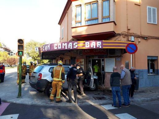 El conductor ha resultado herido.