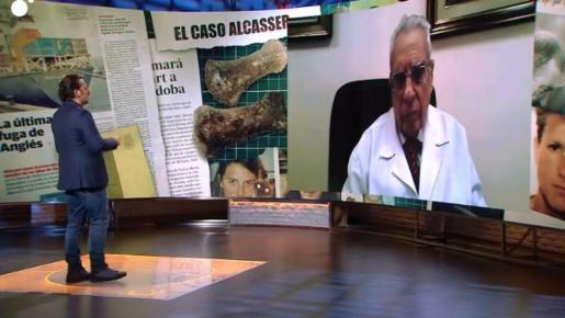 El doctor Frontela habla de caso Alcàsser en Cuatro.