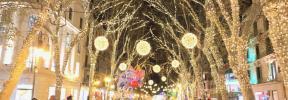 Palma dará la bienvenida a la Navidad con tres espectáculos lumínicos