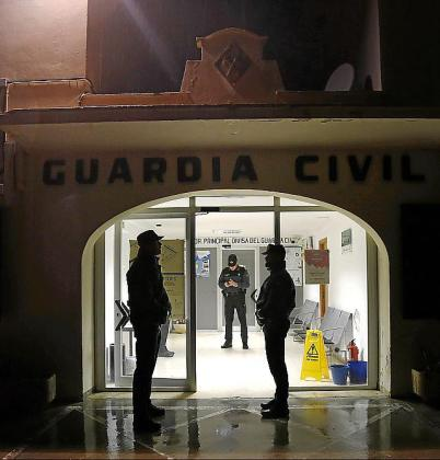 La Guardia Civil arrestó al sospechoso horas después.