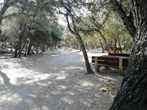 Imagen de una de las áreas recreativas gestionadas por el Ibanat.