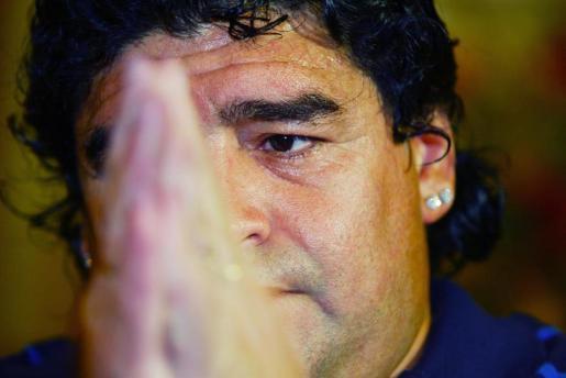 Imagen de archivo de Diego Armando Maradona.