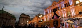 El dolor de Argentina se instala en la Casa Rosada