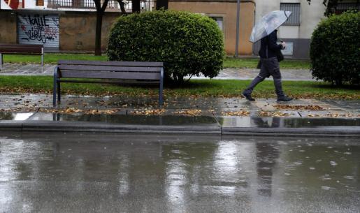 El paraguas será necesario desde este viernes en Mallorca.