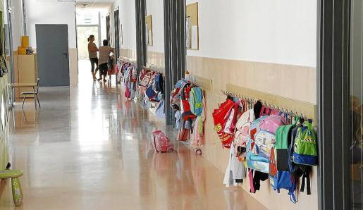 Imagen de archivo de un colegio.