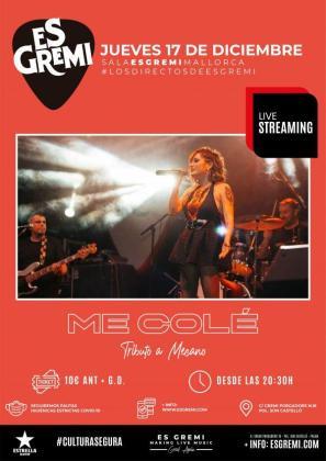 'Me Colé' ' vuelve a Es Gremi en un concierto 'Especial Navidad'.