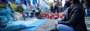 El acto de fe de Nápoles por su inolvidable San Maradona