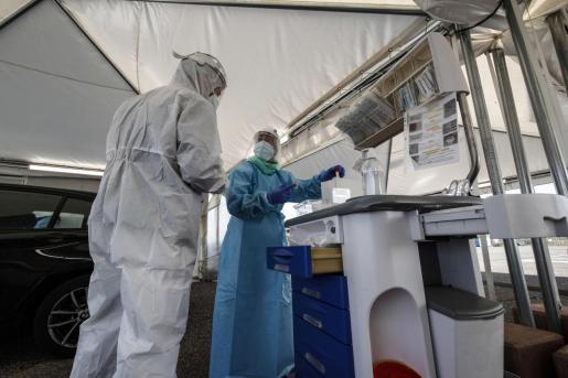 Respecto a las pruebas diagnósticas, desde el pasado 16 de noviembre y hasta el 22 de noviembre se han realizado 981.011, de las cuales 692.475 han sido PCR y 288.536 test de antígenos.