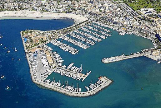 El proyecto presentado pretende ganar 12.000 m2 al mar.
