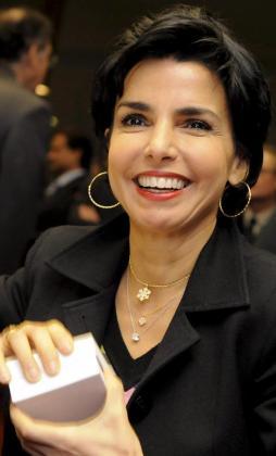 Rachida Dati, en una imagen de archivo cuando era ministra de Justicia del Gobierno francés.
