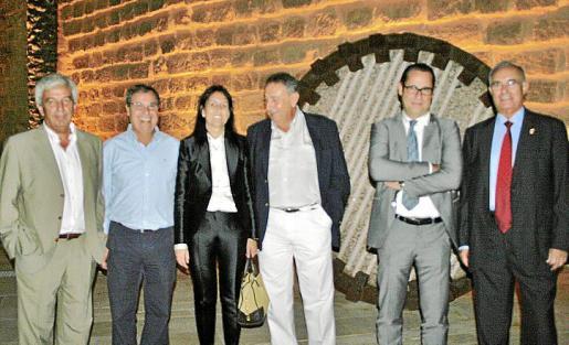 Gabriel Oliver, Francisco Sastre, Inma de Benito, Bartomeu Servera, Alfredo Arias y Joan Ribas.