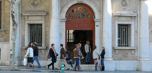 La mujer se declaró culpable ayer en un juicio celebrado en Vía Alemania, Palma.