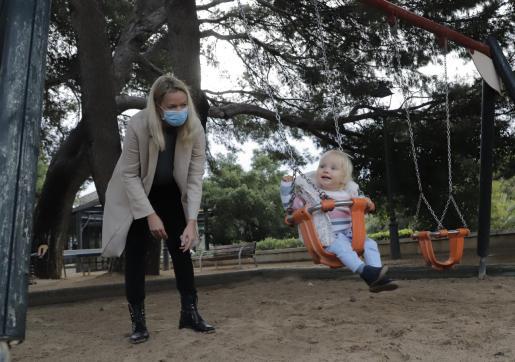 Los parques de Palma han reabierto este sábado.