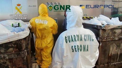 La Guardia Civil ha abierto una investigación a una empresa perteneciente a un 'holding' internacional americano con sede europea en Londres.