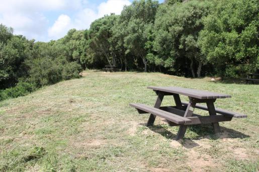 Área recreativa de s'Arangí