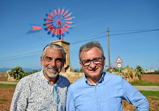 Los dos autores del libro: Joan Carlos Palos y Bartomeu Carrió.