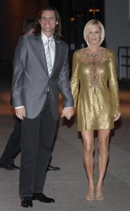 Jim Carrey y su mujer Jenny McCarthy, en una imagen de archivo.