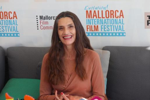 Ángela Molina, en una imagen tomada en Palma el pasado mes de octubre.