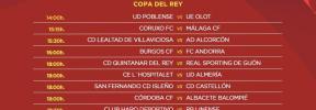 Ya hay horarios para los partidos de Copa