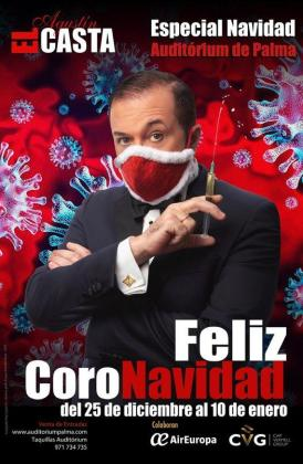 Agustín 'El Casta' presenta su espectáculo navideño.