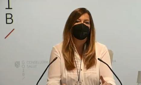 La consellera Patricia Gómez durante la rueda de prensa.