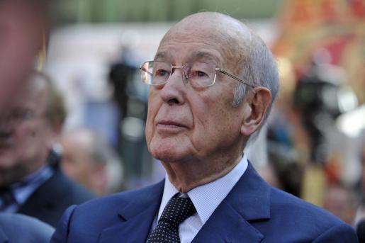 El ex presidente francés Valéry Giscard d'Estaing.