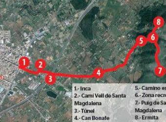 Puig de Santa Magdalena: la ruta de los peregrinos