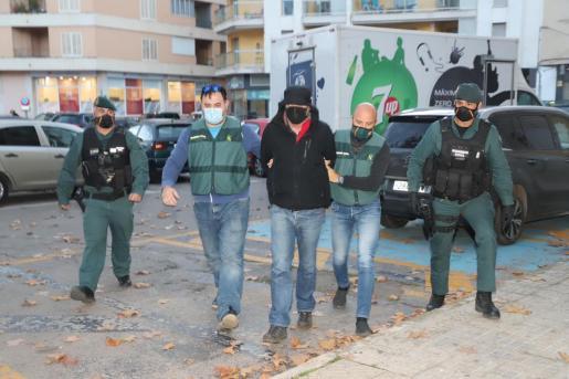 Juan Torres Serra, conocido como 'El Pirata', detenido por la supuesta desaparición de un hombre de Binissalem, ha pasado a disposición judicial este viernes.