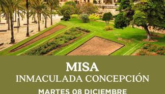 Misa Inmaculada Concepción en la Catedral de Mallorca