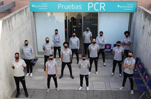 Los PCR desvelan cuatro positivos más en la plantilla del Urbia U Energia.