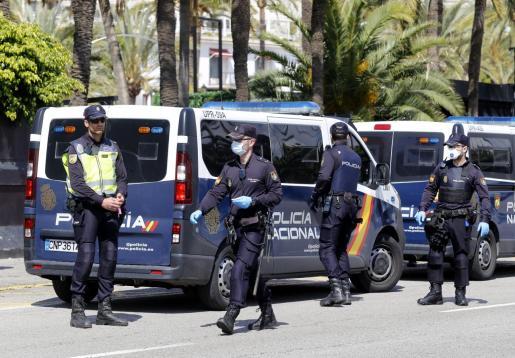 La Policía Nacional ha procedido a la detención del sospechoso, que hacía días que estaba siendo intensamente buscado por Palma.