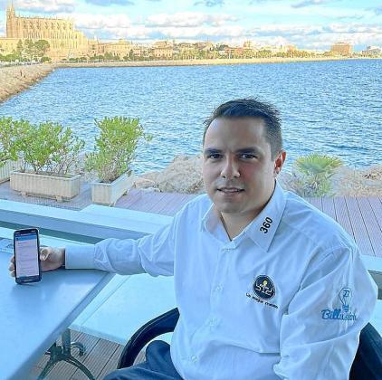 Juan Carlos Cabrera, cofundador de 'La mejor mesa' que ha desarrollado un QR específico para control de los clientes en los locales de restauración. El proyecto está ya operativo y los datos pueden ser utilizados por Salut desarrollando una aplicación. Cabrera afirma: «El sistema está hecho y a disposición del Govern».