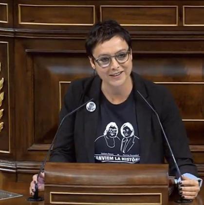 Montse Bassa, diputada de ERC en el Congreso.