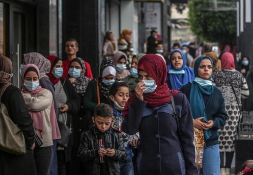 Coronavirus en Gaza.