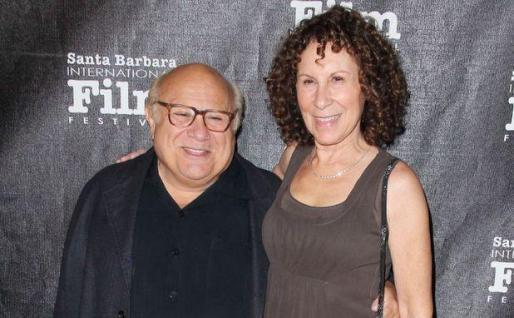Danny de Vito y Reah Perlman, en una imagen de archivo.