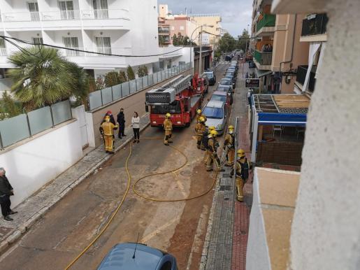 Fuga de gas en Can Pastilla.