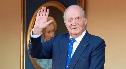 Imagen de archivo de don Juan Carlos, durante un acto público.