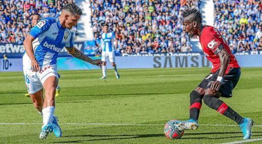 imagen del Leganés-Mallorca de la pasada temporada.