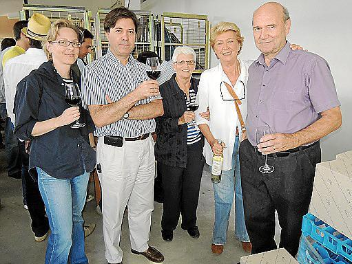 Sonia Weyens, Arturo de Salabert, Catalina Darder, Anna Luis Anderhub y René Anderhub.